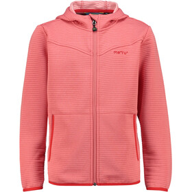 Meru Delfi Fleece Jacket Kids emberglow